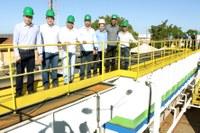 Águas de Barra do Garças entrega obras de ampliação e melhorias dos sistemas de abastecimento e coleta e tratamento de esgoto