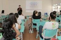 Alunos do IFMT de Barra do Garças recebem palestra sobre saneamento básico com representante do Trata Brasil