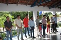 Ampliação de escola é inaugurada por prefeito e vereadores de Barra do Garças