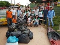 Atividades de educação ambiental mobilizam acadêmicos, instituições e voluntários em Barra do Garças