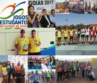 Atletas de Aragarças dão show nos Jogos Estudantis de Goiás
