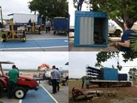Azul instala container de bagagens, voo inaugural será no próximo dia 07 com preços a partir de R$ 79,90