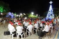 Banda Municipal encerra atividades no ano com tocata, chegada do Papai Noel será hoje a noite na Praça da Matriz