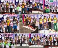 Barra do Garças Associação de Atletismo ocupa os primeiros lugares no pódio da Segunda Corrida Maria da Penha