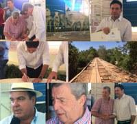 Barra do Garças construirá Ponte de Concreto no Rio Corrente, Prefeito assinou Ordem de Serviço no Leilão da Carpa