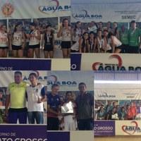 Barra do Garças se destaca em jogos regionais escolares realizado em Água Boa