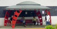 Barra implantará pontos de ônibus no formato de discos voadores