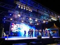 Catireiros do Araguaia atraem grande público ao palco de apresentações da FIT