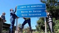 Com suspensão de Lei Placas são recolocadas no verdadeiro limite de Barra e Xavantina
