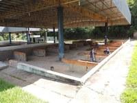 Construção de área de carnes e frios na Feira de Barra do Garças este bem adiantada