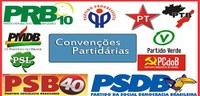 Domingo é o último dia para os partidos políticos realizarem suas convenções