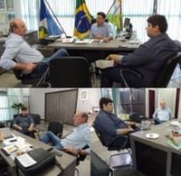 Em visita a prefeitura Neri Geller anuncia R$ 500 mil para Patrulha Agrícola em Barra do Garças