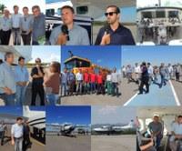 Empresa apresenta aeronave que fará ponte aérea de Barra ao Norte Araguaia
