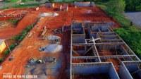 Empresa começa a levantar estrutura do Centro de Convenções em Barra do Garças