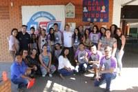 Escolas estaduais recebem kits para pintura e revitalização