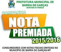 Esquenta a campanha Nota Premiada de Barra que sorteará 1 carro e 4 motos em maio