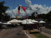Estrutura para o Carnaval Araguaia Folia 2016 está sendo montada