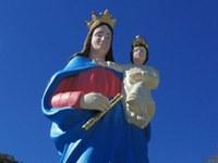 Imagem de Nossa Senhora Auxiliadora é restaurada em Barra do Garças