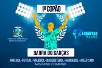 Inscrições para o 1º Copão de Barra do Garças se encerram no dia 4 de agosto