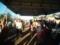 Moradores do Residencial Nova Barra do Garças recebem diversas ações em Mutirão