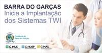 Município de Barra do Garças está implantando sistema modernizando a gestão de saúde