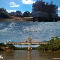 Obras do anel viário – Fotos mostram evolução da construção de pontes nos Rio Garças e Araguaia