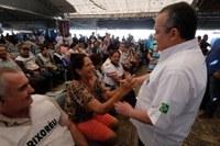 Para Taques, a Caravana é um dos maiores programas sociais do Estado