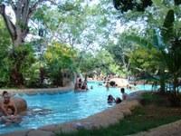 Parque das Águas Quentes estará aberto no feriado de Carnaval, só fecha na quarta