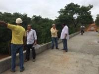 Ponte do Córrego Passa vinte está quase pronta