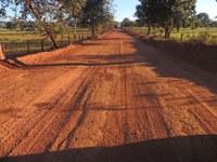Prefeitura de Barra faz recuperação estradas vicinais de acesso à Voadeira