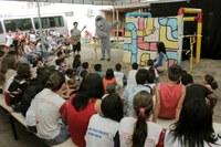 Preservação do meio ambiente é tema de peça teatral para crianças de escolas públicas de Barra do Garças