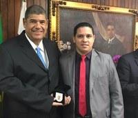 Presidente da UCMMAT é homenageado em São Paulo