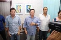 Presidente do TCE-MT visita a Prefeitura de Barra do Garças