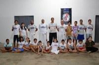Projetos sociais atraem crianças e adultos para quartel da PM em Barra do Garças