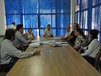 Reunião discute medidas para acelerar ações para Limpeza de lotes e prevenção as queimadas