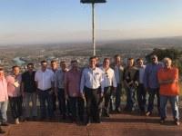 Secretário visita obras no Parque Serra Azul para garantir reabertura até dezembro