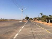 """Sonho dos moradores de """"Vale dos Sonhos"""" é realizado com a conclusão do asfaltamento da Avenida Brasil Central"""