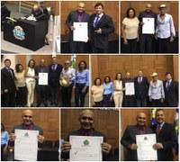 Vereador Professor Sivirino recebe Título de Cidadania Mato-Grossense