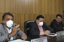 A Câmara Municipal por medidas preventivas contra a proliferação do covid-19 realizou na noite de segunda (23) sessão de portas fechadas ao público