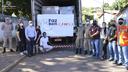 A JBS Friboi faz doação de 5 Mil cestas à Cidade de Barra do Garças