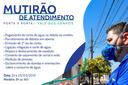 Águas de Barra do Garças realiza mutirão nos Distritos de Indianópolis e Vale dos Sonhos