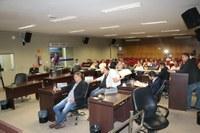 Câmara realiza sessão e vereadores aprovam autorização para instalação de antenas de transmissão no sítio aeroportuário