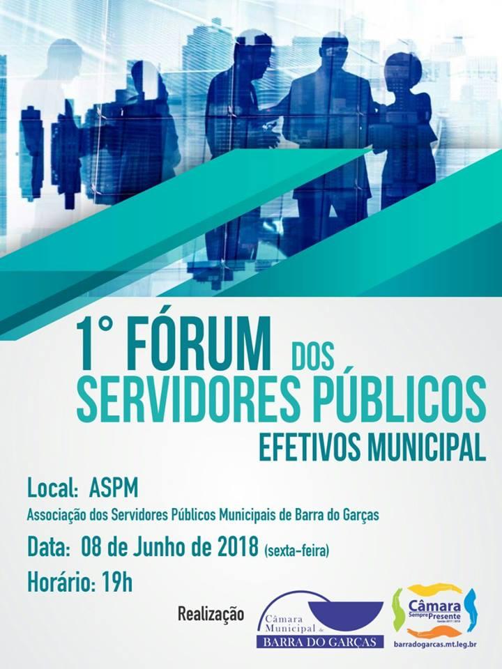 Câmara realizará 1º Fórum dos Servidores Públicos Efetivos do Município