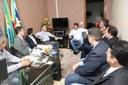 Comandante Regional da PM se reúne com vereadores para ouvir demandas dos parlamentares