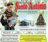 Começa hoje a LXVI Festa de Santo Antônio