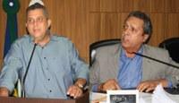Deputado Baiano Filho tenta explicar voto favorável ao projeto de lei que alterou limite de Barra do Garças; Miguelão reclama falta de Audiência Pública para o debate