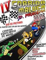 Domingo acontece a quarta edição da Corrida Maluca do Jardim Piracema