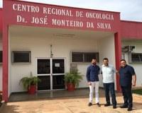 Dr. Neto e secretário de saúde articulam vinda do Projeto Laços e Abraços