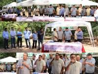 Durante Assembleia Itinerante, deputado e vereadores visitam Gleba Araguaia 8 / Fundão