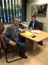 Em Brasília, Miguelão leva demandas para deputado federal